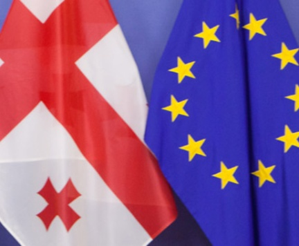EU-Georgia-flags