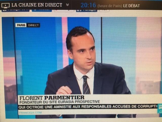 Florent Parmentier France 24 14.09.2017